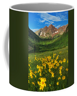 Maroon Summer Coffee Mug