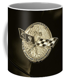 Marque 25th Anniversary Corvette  Coffee Mug by John Schneider