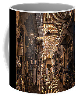 Marrakech Souk With Children Coffee Mug