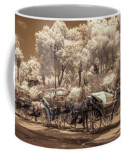Marrakech Street Life - Horses Coffee Mug
