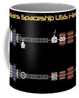 Mars Spaceship Hermes1 Coffee Mug