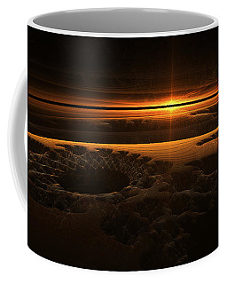 Marscape Coffee Mug by GJ Blackman