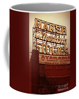 Marsh Stogies Sign Coffee Mug