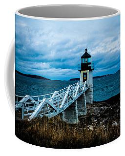 Marshall Point Light At Dusk 2 Coffee Mug