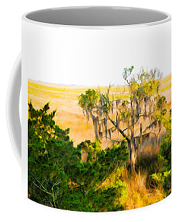 Marsh Cedar Tree And Moss Coffee Mug