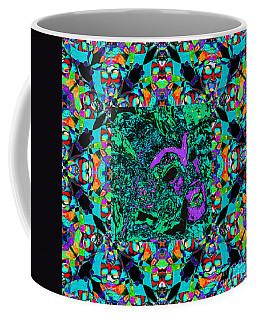 Marti Gras Carnival Mask In Jester Window 20130129v6 Coffee Mug