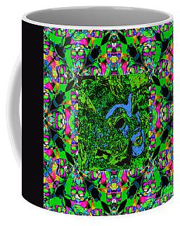Marti Gras Carnival Mask In Jester Window 20130129v7 Coffee Mug