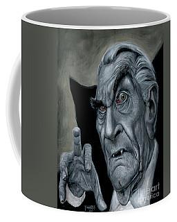 Martin Landau As Bela Coffee Mug by Mark Tavares