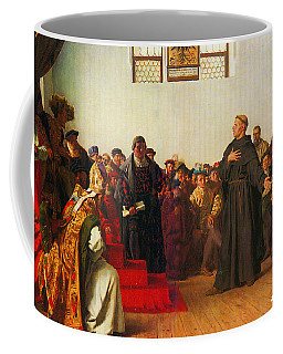Martin Luther Before The Diet Of Worms Coffee Mug