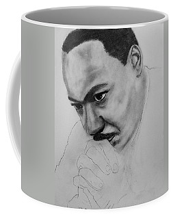 Martin Luther King Jr. Mlk Jr. Coffee Mug by Michael Cross