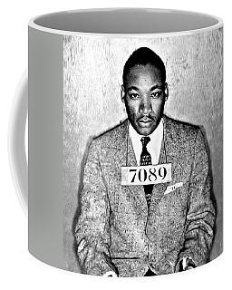 Martin Luther King Mugshot Coffee Mug