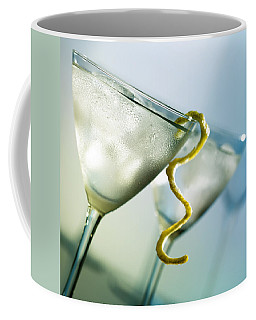 Martini With Lemon Peel Coffee Mug
