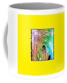 Mary In The Field Coffee Mug