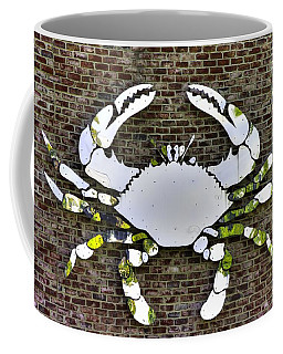Coffee Mug featuring the photograph Maryland Country Roads - Camo Crabby 1a by Michael Mazaika