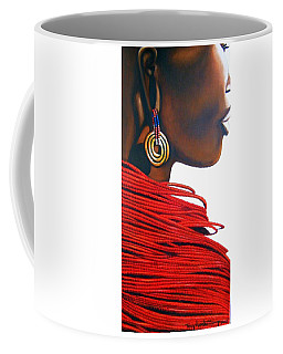 Masai Bride - Original Artwork Coffee Mug