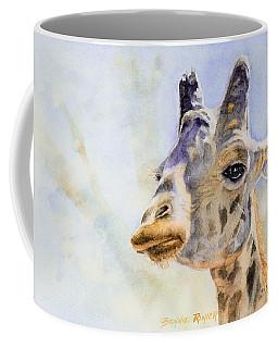 Masai Giraffe Coffee Mug by Bonnie Rinier