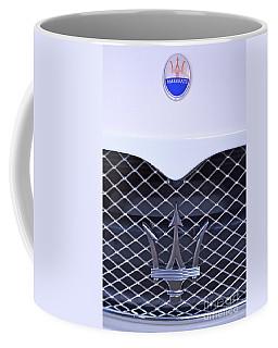 Maserati Emblems Coffee Mug by Pamela Walrath