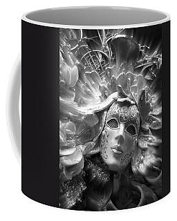 Coffee Mug featuring the photograph Masked Angel by Amanda Eberly-Kudamik