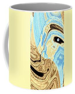 Masked- Man Abstract Coffee Mug
