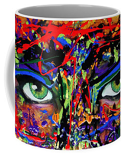 Masque Coffee Mug by Michael Cross