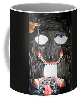 Masquera Carcaza  Coffee Mug by Lazaro Hurtado