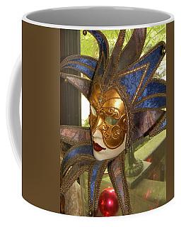 Masquerade Coffee Mug by Jean Goodwin Brooks