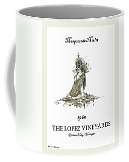 Masquerade Merlot Coffee Mug by Julio Lopez