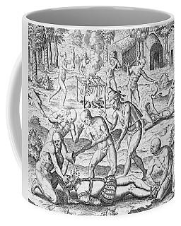 Massacre Of Christian Missionaries Coffee Mug