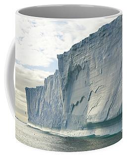 Maasive Iceberg And Seabirds S Georgia Coffee Mug
