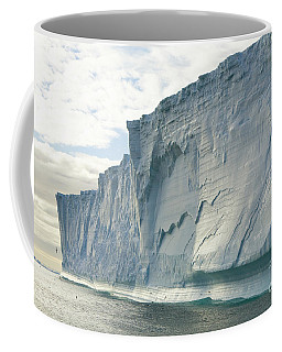 Maasive Iceberg And Seabirds S Georgia Coffee Mug