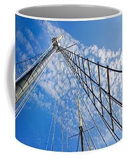 Masted Sky Coffee Mug by Keith Armstrong