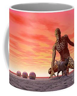 Master And Servant - Surrealism Coffee Mug