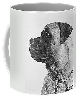 Mastiff In Profile Coffee Mug