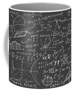 Maths Blackboard Coffee Mug