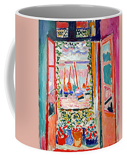 Matisse's Open Window At Collioure Coffee Mug