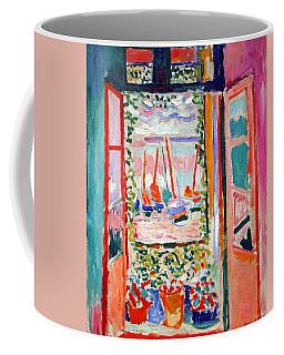 Matisse's Open Window At Collioure Coffee Mug by Cora Wandel