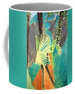 Matisse's Palm Leaf In Tangier Coffee Mug by Cora Wandel