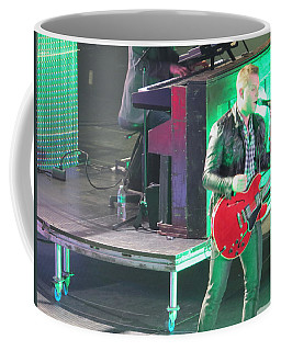 Coffee Mug featuring the photograph Matthew West At Winterjam by Aaron Martens