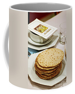 Matza And Haggada For Pesach Coffee Mug