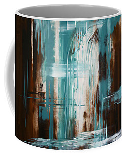 Waterfall In Paradise Coffee Mug by Dani Abbott