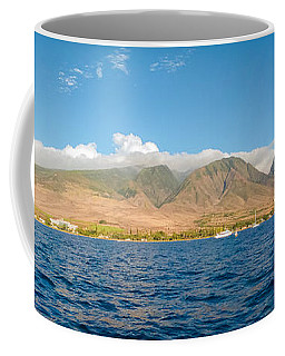 Coffee Mug featuring the photograph Maui's Southern Mountains   by Lars Lentz
