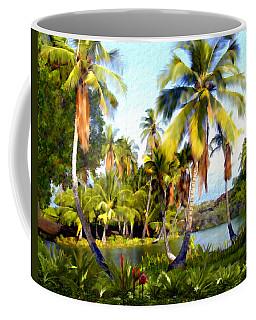 Mauna Lani Fish Ponds Coffee Mug