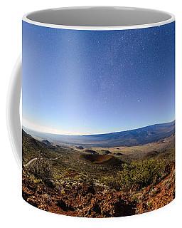 Mauna Loa Moonlight Panorama Coffee Mug