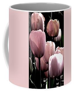 Mauve In The Morning Coffee Mug by Angela Davies