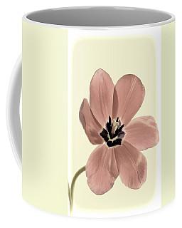 Mauve Tulip Transparency Coffee Mug