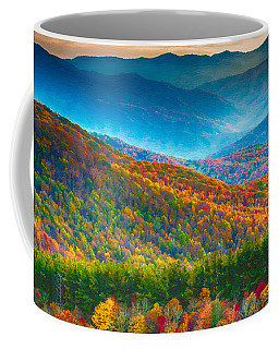 Max Patch Bald Fall Colors Coffee Mug