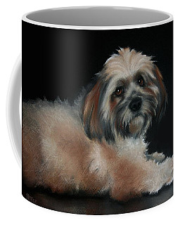 Coffee Mug featuring the drawing Maxi by Cynthia House
