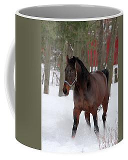 Maxwell's Gold Coffee Mug