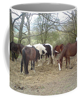 May Hill Ponies 3 Coffee Mug