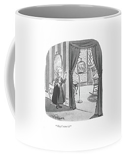 May I Come In? Coffee Mug